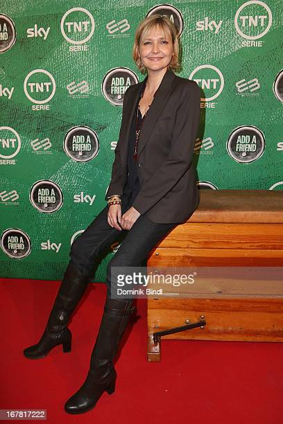 Katharina Schubert attends 'Add a Friend' Preview Event of TNT Serie at Bayerischer Hof on April 30 2013 in Munich Germany The second season series...
