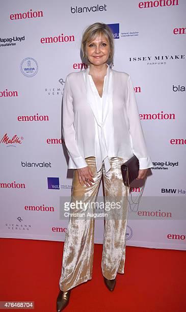 Katharina Schubert attends Emotion Award at the Laeiszhalle on June 9 2015 in Hamburg Germany