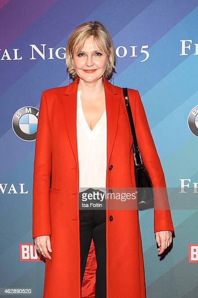 Katharina Schubert attends the Bunte BMW Festival Night 2015 on February 06 2015 in Berlin Germany