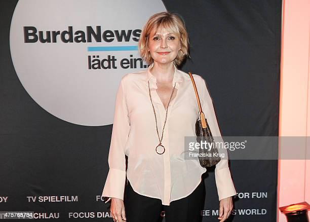 Katharina Schubert attends the BurdaNews Night on June 03 2015 in Hamburg Germany