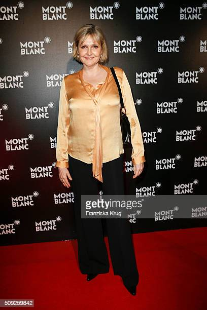 Katharina Schubert attends the Montblanc House Opening on February 09 2016 in Hamburg Germany