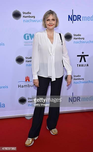 Katharina Schubert attends the Studio Hamburg Nachwuchspreis 2015 at Thalia Theater on June 23 2015 in Hamburg Germany