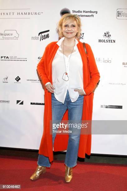 Katharina Schubert attends the WarmUp 2018 Film Funding Opening Party In Schleswig Holstein and Hamburg on January 24 2018 in Hamburg Germany