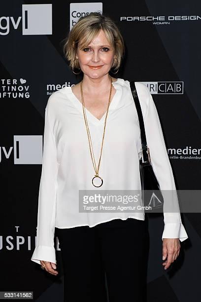 Katharina Schubert during the Deutscher Schauspielerpreis on May 20 2016 in Berlin Germany