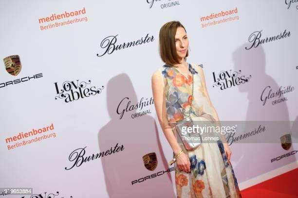 Katharina Schuettler attends the Medienboard BerlinBrandenburg Reception at The 68th Berlinale International Film Festival on February 17 2018 in...