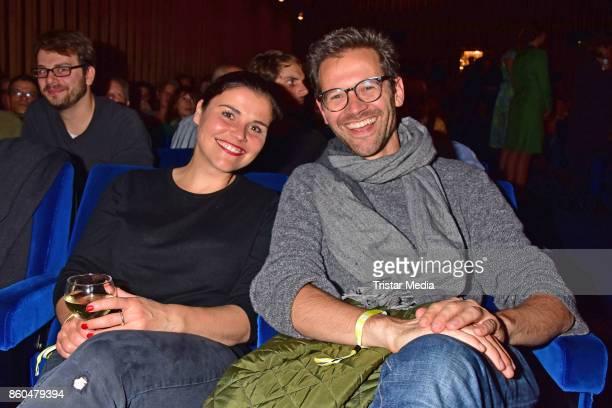 Katharina Wackernagel and Jonas Grosch attend the 'Vorwaerts immer' premiere at Kino International on October 11 2017 in Berlin Germany