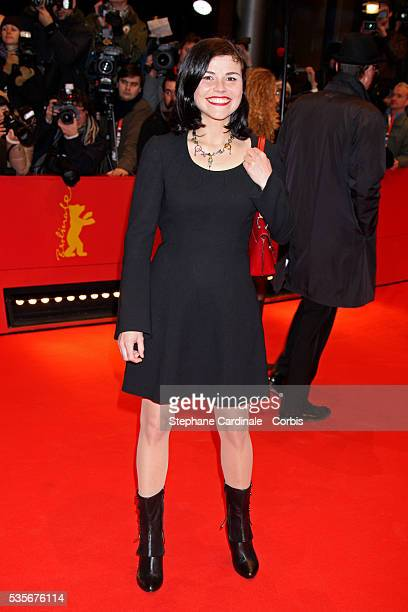 Katharina Wackernagel arrives at the premiere of 'Shine A Light' at the 58th Berlin International Film Festival
