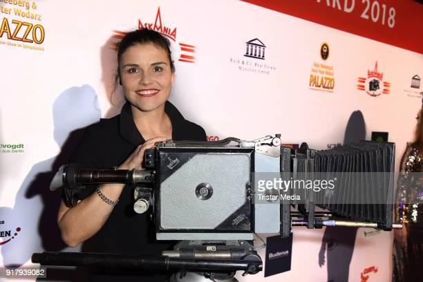 Katharina Wackernagel attends the Askania Award at Palazzo am Bahnhof Zoologischer Garten on February 13 2018 in Berlin Germany