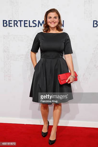 Katharina Wackernagel attends the Bertelsmann Summer Party at the Bertelsmann representative office on September 10 2014 in Berlin Germany