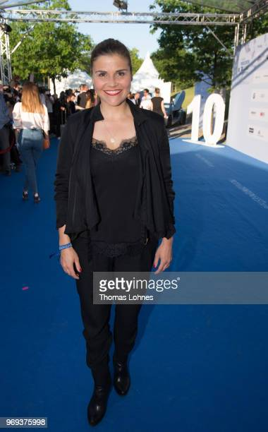 Katharina Wackernagel attends the summer party 2018 of the German Producers Alliance on June 7 2018 in Berlin Germany
