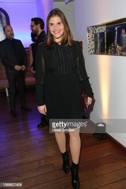 Katharina Wackernagel during the ARD advent dinner hosted by the program director of the tv station Erstes Deutsches Fernsehen at Hotel Bayerischer...