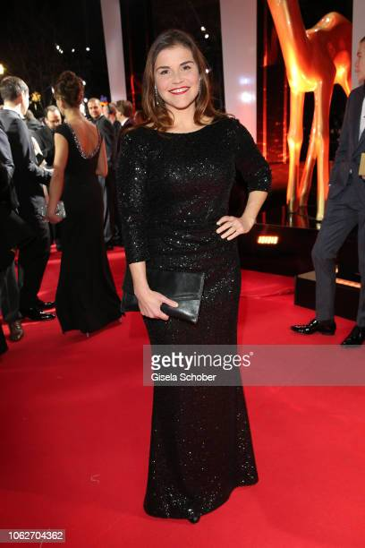 Katharina Wackernagel during the Bambi Awards 2018 Arrivals at Stage Theater on November 16 2018 in Berlin Germany