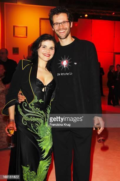 Katharina Wackernagel Und Ihr Bruder Jonas Grosch Bei Der Aftershowparty Der 46 Goldenen Kamera In Der UllsteinHalle In Berlin