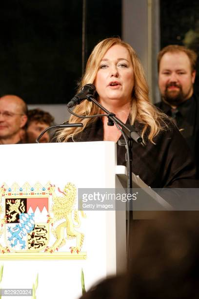 Katharina Wagner during the Bayreuth Festival 2017 State Reception at Neues Schloss on July 25 2017 in Bayreuth Germany