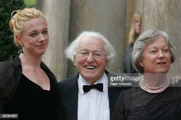 Katharina Wagner Wolfgang Wagner General Director of the Richard Wagner Festival and his wife Gudrun arrive for the opening performance of Richard...
