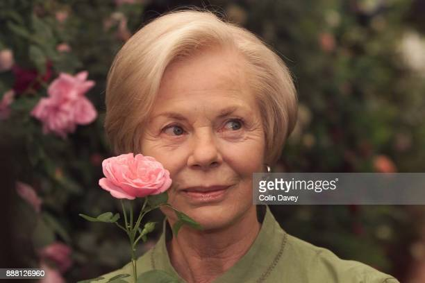 Katharine, Duchess of Kent at the Chelsea Flower Show, London, 22nd May 2000.