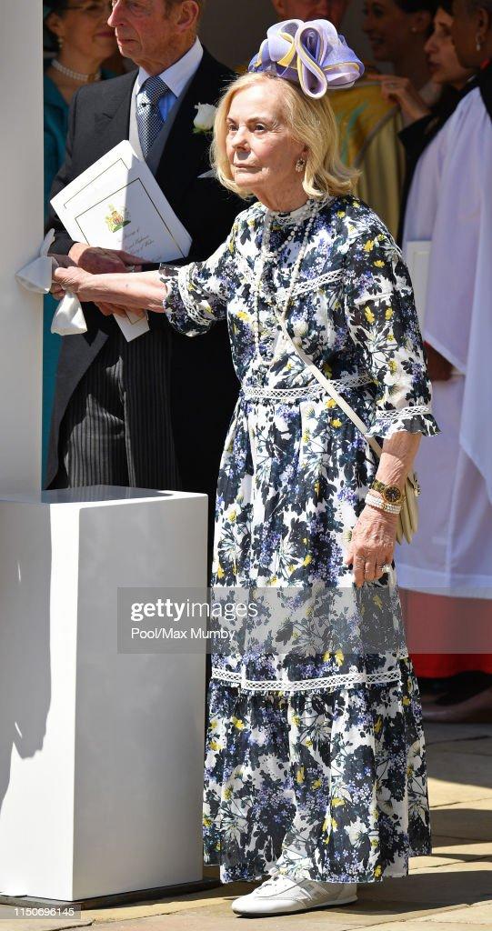 Prince Harry Marries Ms. Meghan Markle - Windsor Castle. : Fotografía de noticias