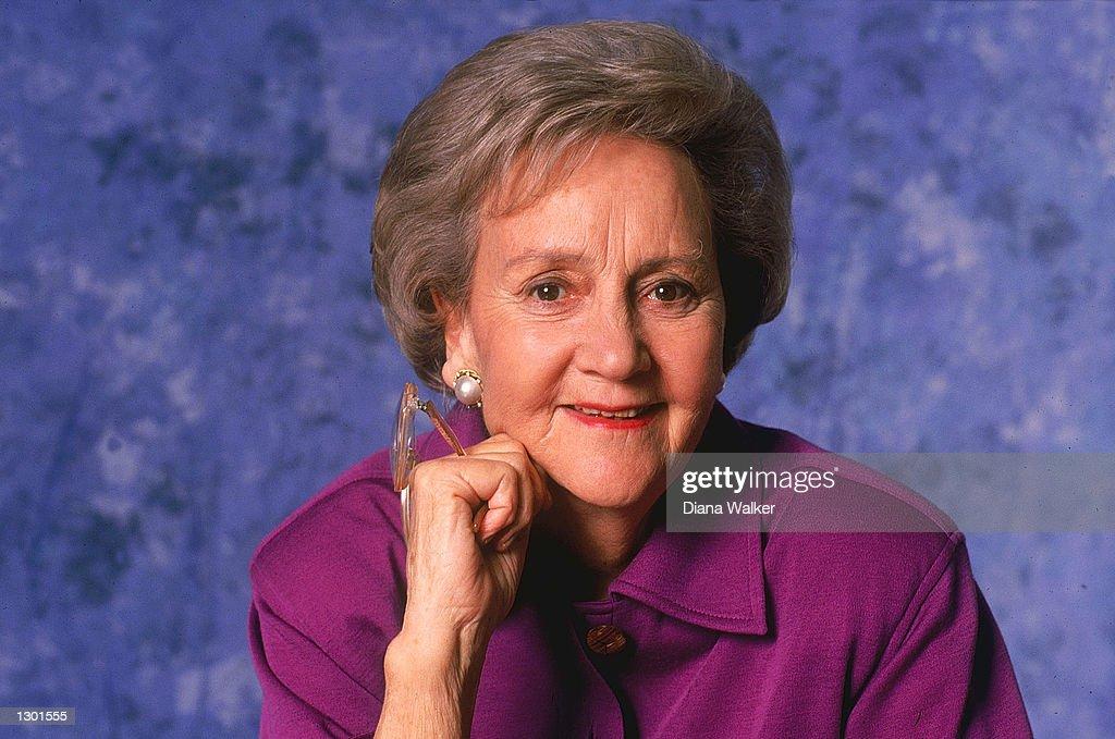 Katharine Graham Dies at Age 84 : News Photo