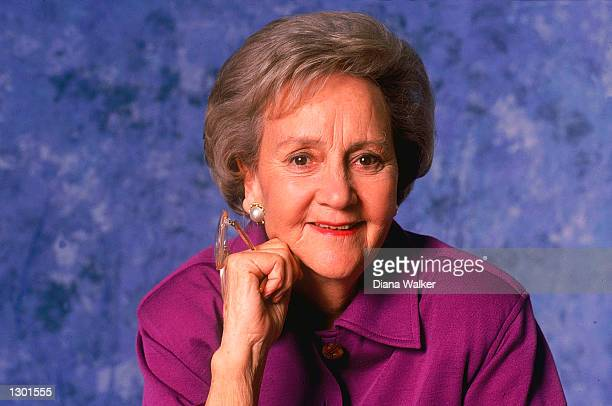 Katharine Graham Pulitzer Prizewinning writer and chairperson of the executive committee of the Washington Post company poses for a portrait January...