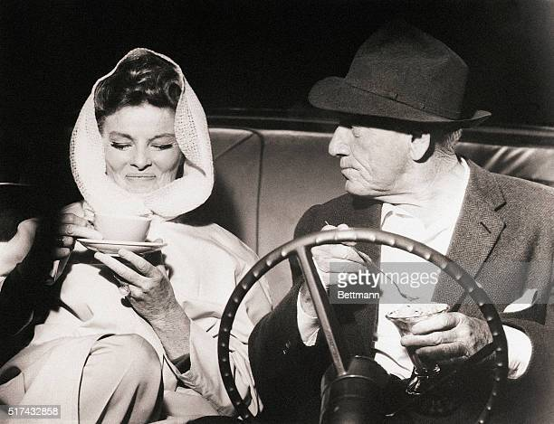 Katharine Hepburn and Spencer Tracy 'We balance each other's natures We are perfect representations of the American male and the American female' The...