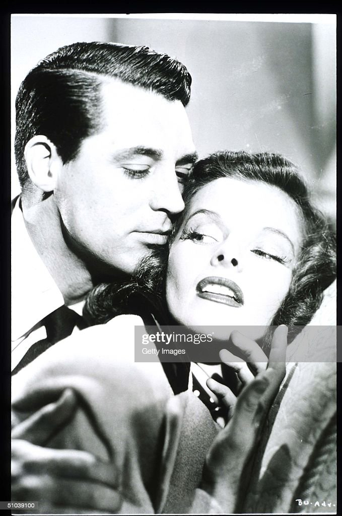 Katharine Hepburn Appears With Actor Cary Grant In The Film Bringing Up Baby In USA Ac : News Photo