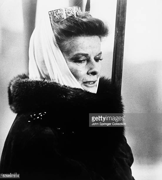 Katharine Hepburn as Eleanor of Aquitaine in 1968 film The Lion in Winter