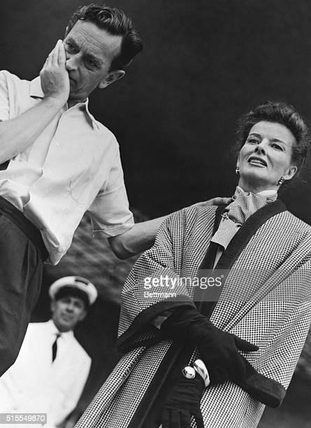 Katharine Hepburn Working with David Lean