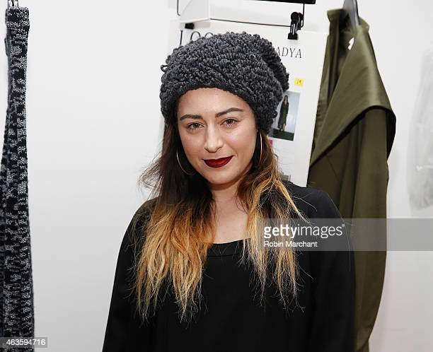 Katharine Houghton attends Houghton at Milk Studios on February 16 2015 in New York City