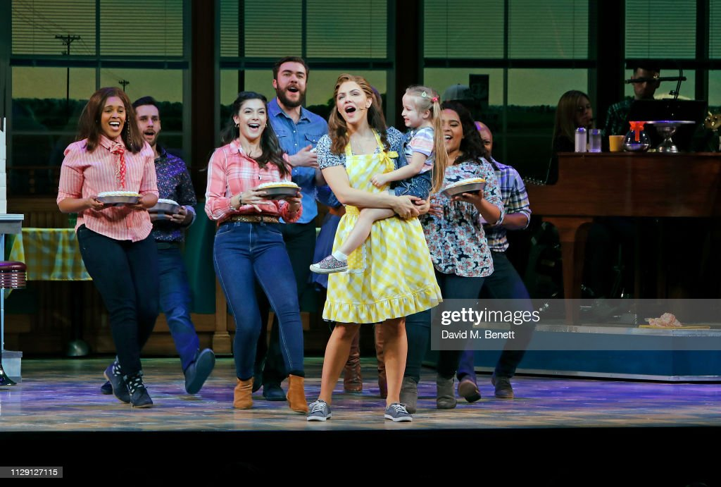 'Waitress: The Musical' - Press Night - Curtain Call : News Photo