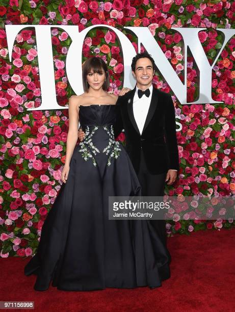 Katharine McPhee and Zac Posen attend the 72nd Annual Tony Awards at Radio City Music Hall on June 10, 2018 in New York City.