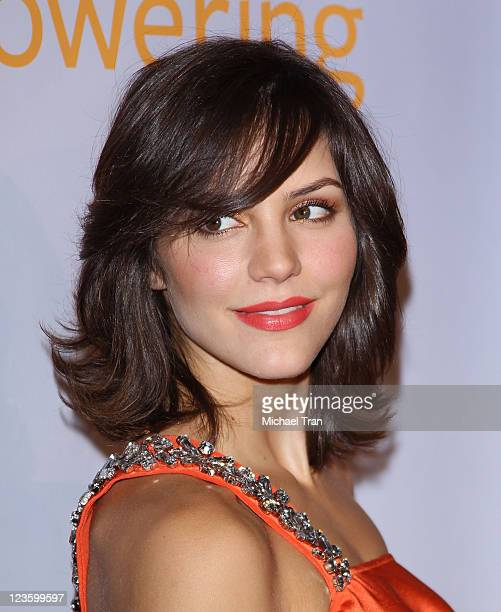 Katharine McPhee arrives at the 1st Annual Global Action Awards Gala held at The Beverly Hilton hotel on February 18 2011 in Beverly Hills California