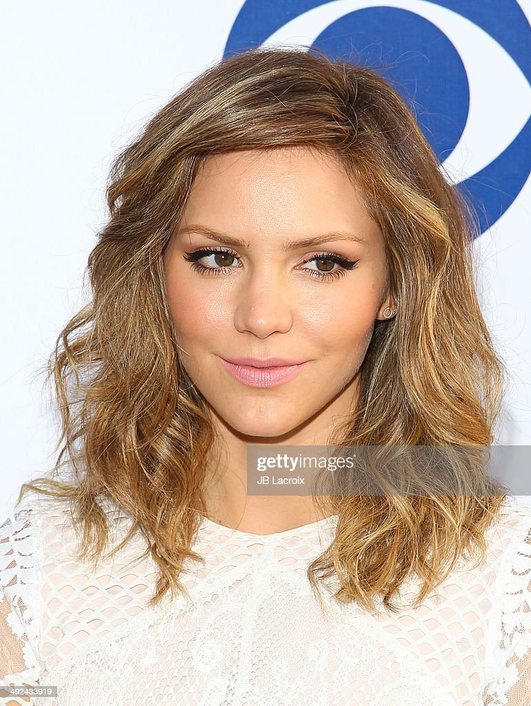 Katharine McPhee arrives at the CBS Summer Soiree at The London West Hollywood on May 19, 2014 in West Hollywood, California.