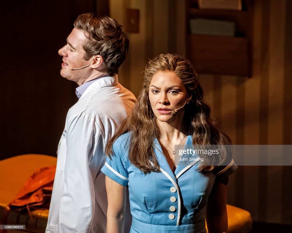 Jessie Nelson's 'Waitress' At The Adelphi Theatre : News Photo
