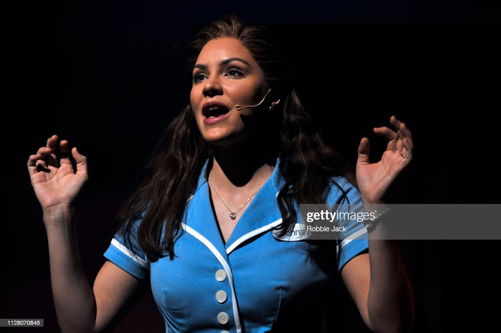 Jessie Nelson's 'Waitress' At The Adelphi Theatre : News Photo