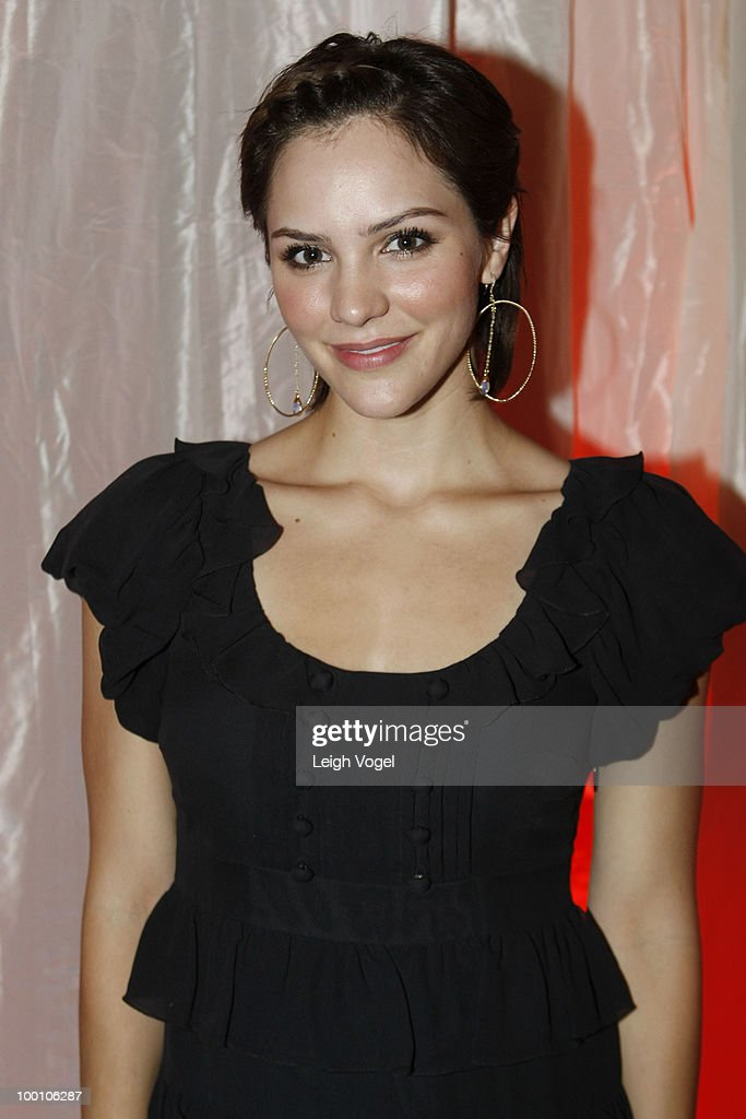 Katharine McPhee attends a Celebration of America's Heritage at the National Museum of the American Indian on May 20, 2010 in Washington, DC.