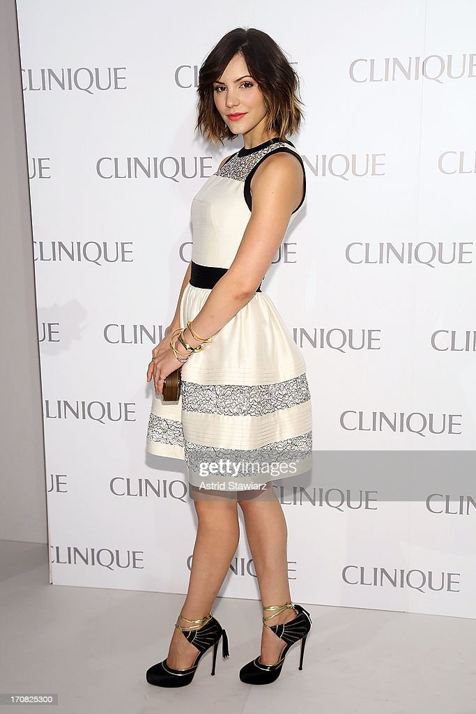 Katharine McPhee attends Dramatically Different Party Hosted By Clinque at 620 Loft & Garden on June 18, 2013 in New York City.