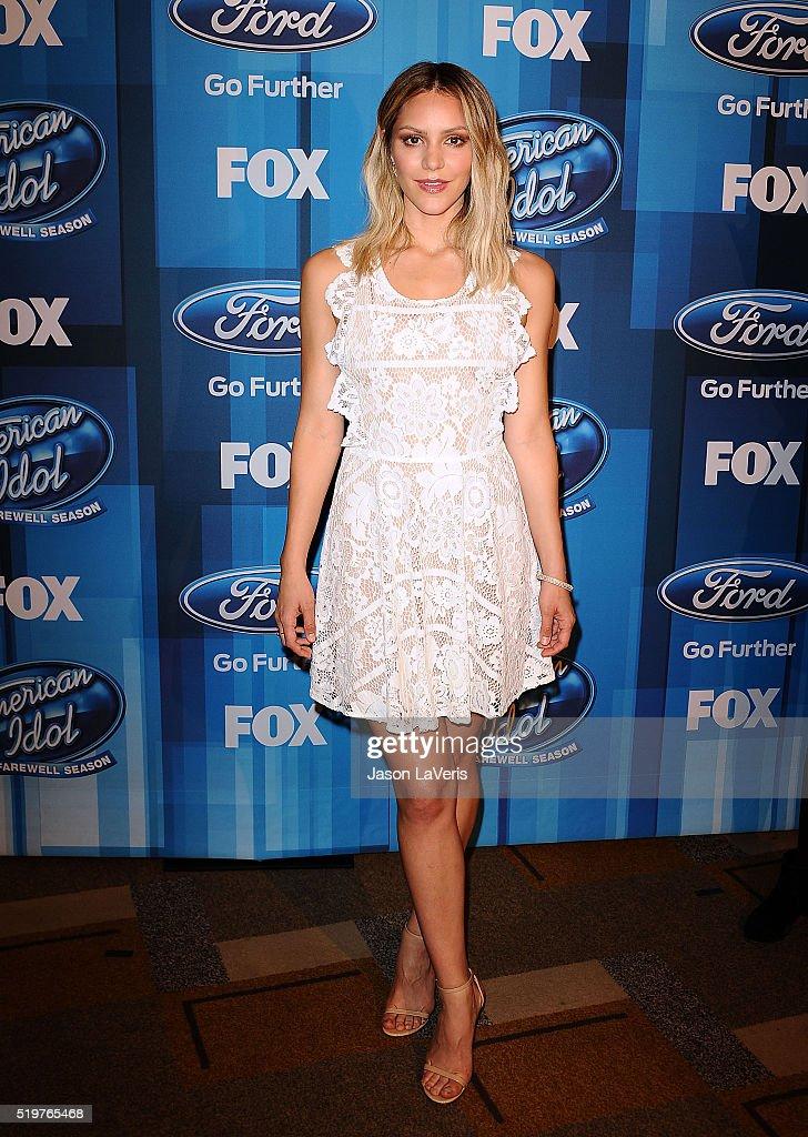 FOX's 'American Idol' Finale For The Farewell Season - Arrivals : News Photo