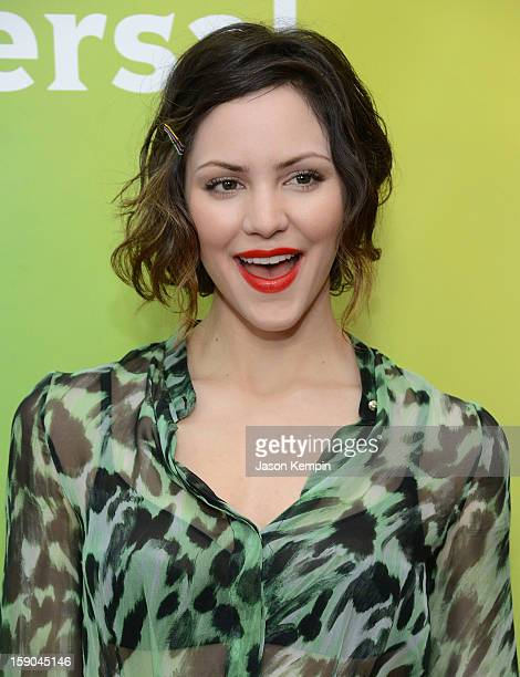 Katharine McPhee attends NBCUniversal's '2013 Winter TCA Tour' Day 1 at Langham Hotel on January 6 2013 in Pasadena California
