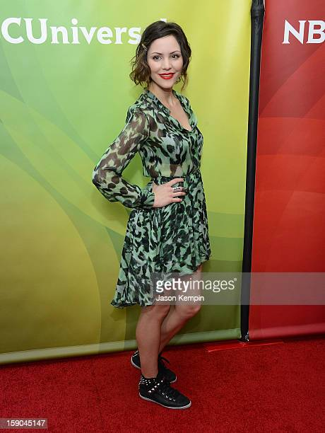 Katharine McPhee attends NBCUniversal's 2013 Winter TCA Tour Day 1 at Langham Hotel on January 6 2013 in Pasadena California