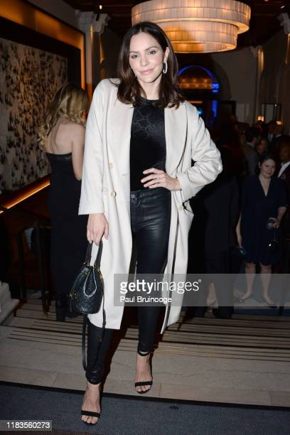 Katharine McPhee attends Prostate Cancer Foundation's Dinner At Daniel on November 19 2019 at Daniel in New York City