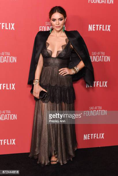Katharine McPhee attends SAGAFTRA Foundation Patron of the Artists Awards 2017 Arrivals at Wallis Annenberg Center for the Performing Arts on...