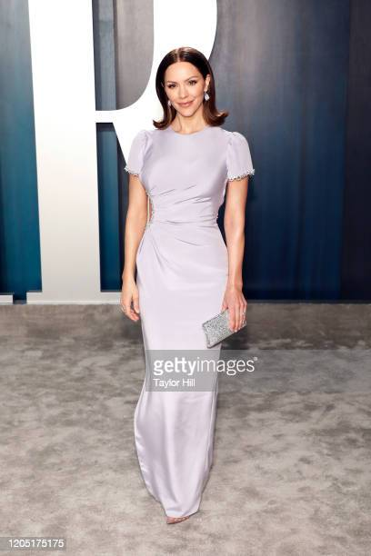 Katharine McPhee attends the 2020 Vanity Fair Oscar Party at Wallis Annenberg Center for the Performing Arts on February 09, 2020 in Beverly Hills,...