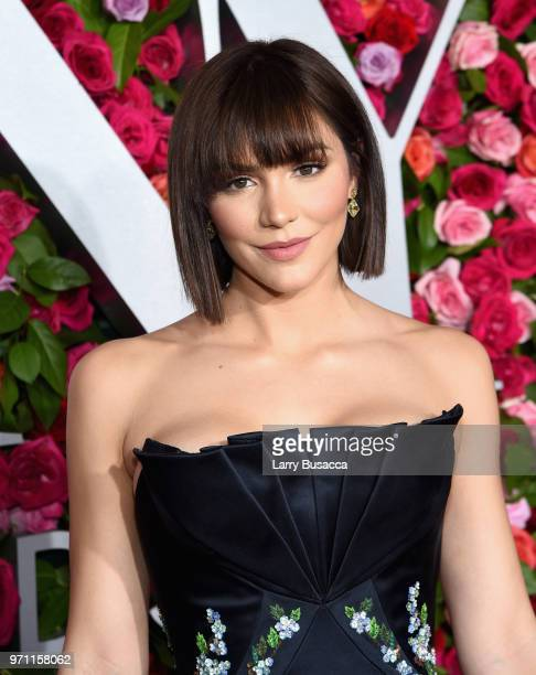 Katharine McPhee attends the 72nd Annual Tony Awards at Radio City Music Hall on June 10 2018 in New York City