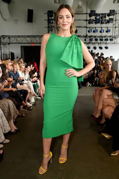 NY: Pamella Roland - Front Row - September 2019 - New York Fashion Week