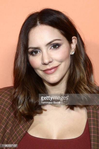 Katharine McPhee attends The Kate Somerville Clinic's 15th Anniversary Party at The Kate Somerville Clinic on October 10, 2019 in Los Angeles,...