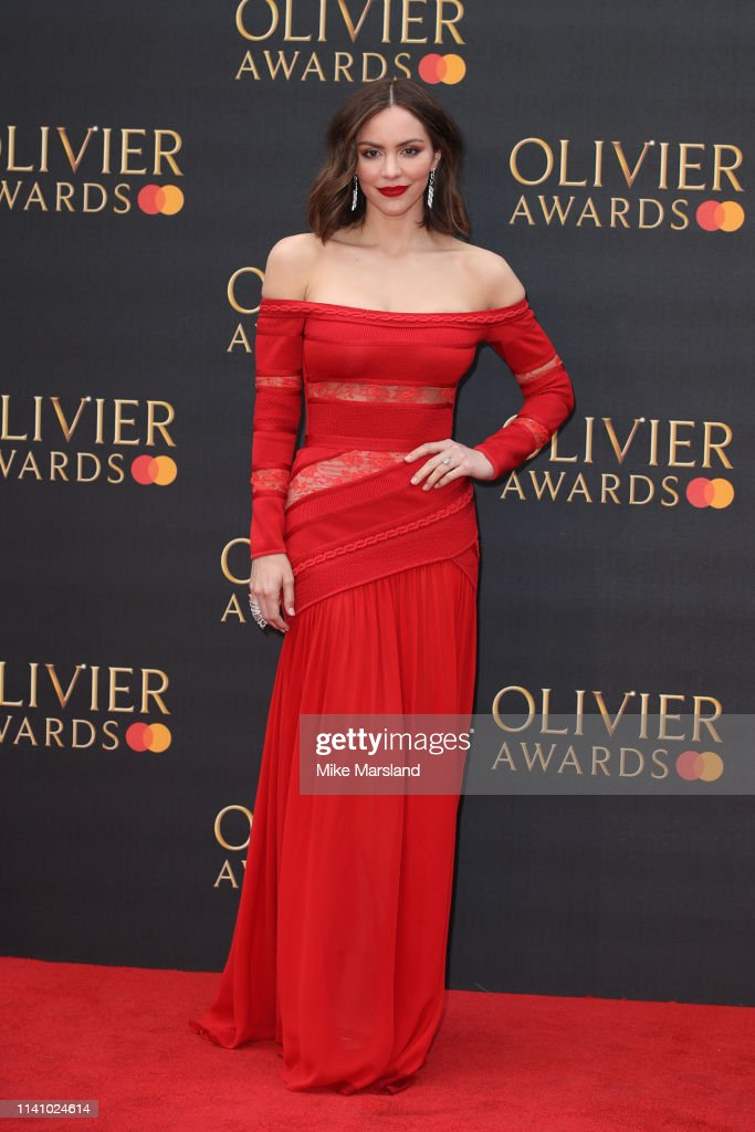 The Olivier Awards 2019 with MasterCard - Red Carpet Arrivals : Nachrichtenfoto
