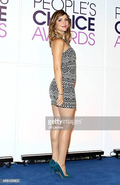 Katharine McPhee attends the People's Choice Awards 2015 nominations press conference held at The Paley Center for Media on November 4 2014 in...