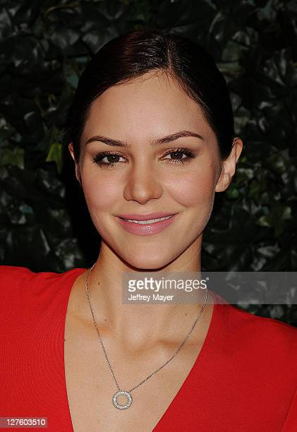 Katharine McPhee attends the QVC Red Carpet Style Party held at the Four Seasons Hotel Los Angeles on February 25, 2011 in Los Angeles, California.