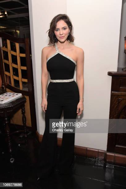 Katharine McPhee celebrates the new film Mary Queen of Scots with Vanity Fair and Focus Features at Chateau Marmont on December 6 2018 in Los Angeles...