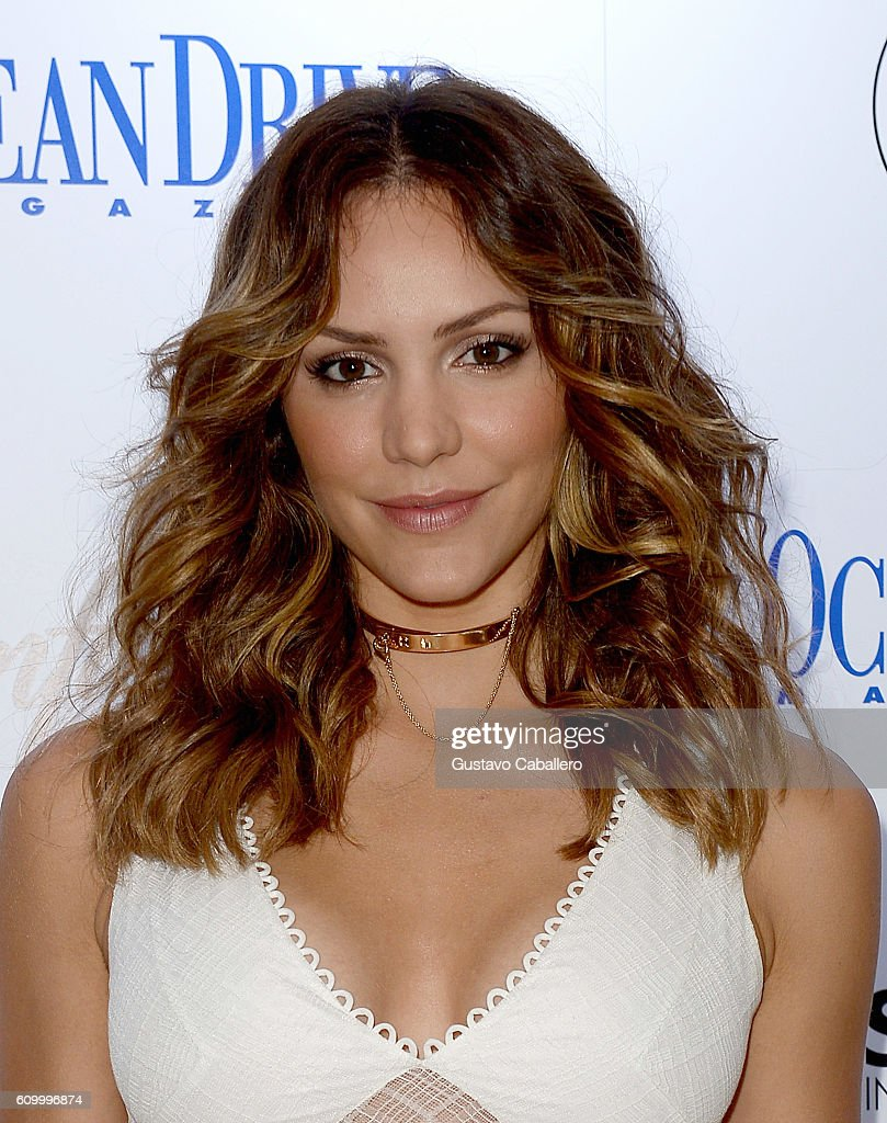Katharine McPhee celebrates the September cover of Ocean Drive Magazine at The Confidante on September 23, 2016 in Miami Beach, Florida.